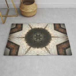 Quartz and Feather // Visionary Art Consciousness Meditation Star Life Peace Love Sacred Rug