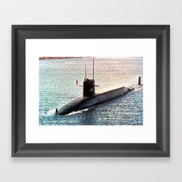 USS ULYSSES S. GRANT (SSBN-631) Framed Art Print