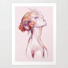 Why I Cry Art Print