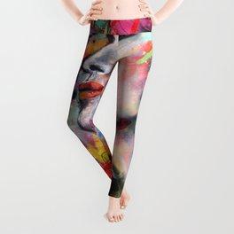 Urban-Girl Original Painting Leggings