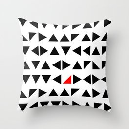 your way Throw Pillow