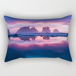 Sunset Paradise Rectangular Pillow