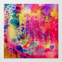 wander Canvas Prints featuring Wander by Amy Sia