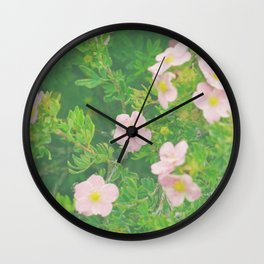 Flower Love 4 Wall Clock
