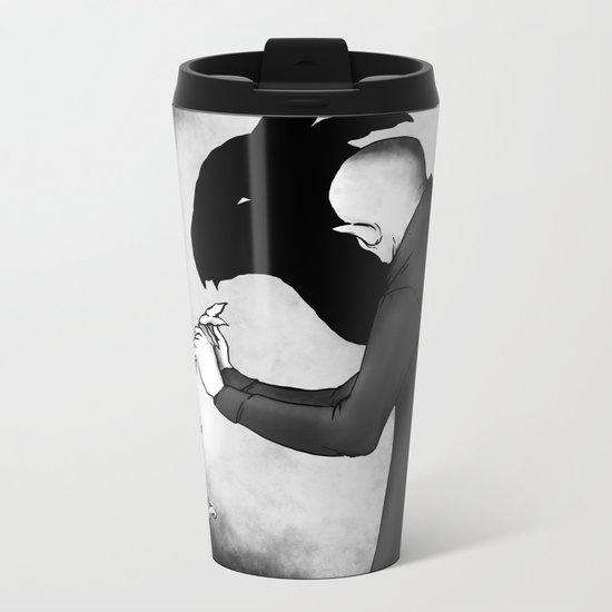 When Boredom Strikes Metal Travel Mug