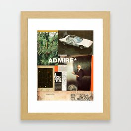 Admire Framed Art Print