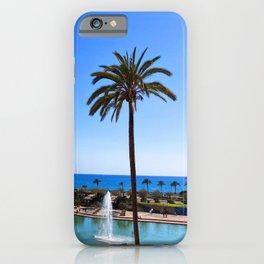 Ocean View in Spain iPhone Case