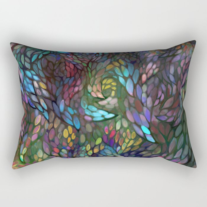 windownight Rectangular Pillow