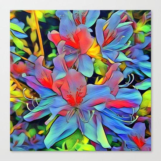 Floral ArtStudio - wonderful flowers Canvas Print