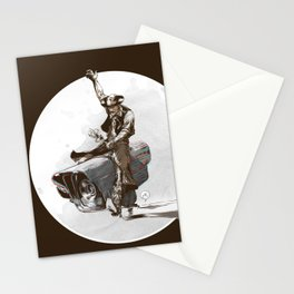 Media Rodeo: Big Brother is watching you Stationery Cards