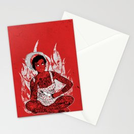Housewife From Hell Stationery Cards