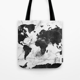 world map marble 3 Tote Bag