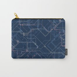 Public Transport Network Carry-All Pouch