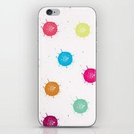 Color Splash iPhone Skin