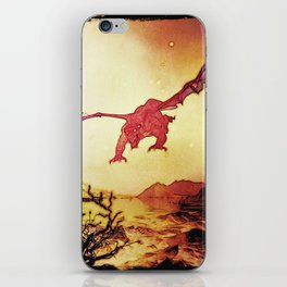 dragon attack iPhone Skin