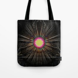 Triangle of light. Tote Bag