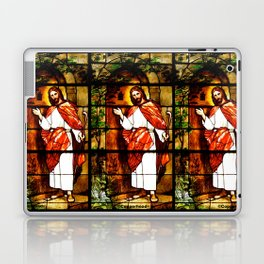 "Jesus knocks at ""The Door"" Laptop & iPad Skin"