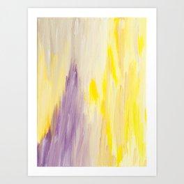 Radiant Abstract Art Print