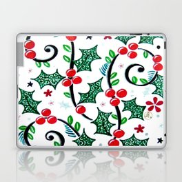 Christmas Curls Laptop & iPad Skin