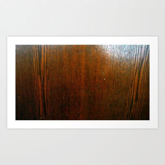 wood.05 Art Print