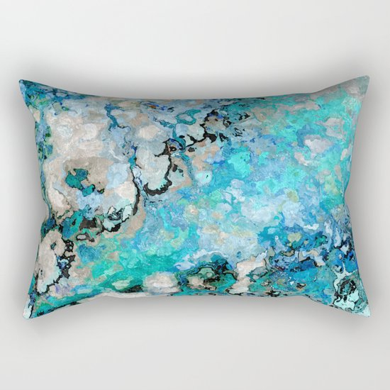 Marble Art V7 Rectangular Pillow