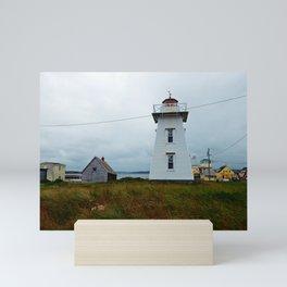 North-Rustico Lighthouse Mini Art Print