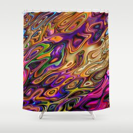 Hot Abstract Colors Shower Curtain