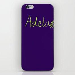 adela iPhone Skin