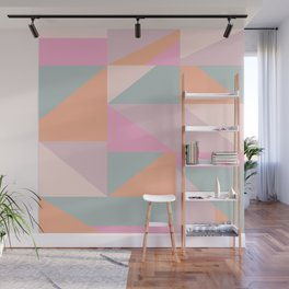 Sweet Candy Pastel Shapes Wall Mural
