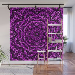 Floral Wrought Iron G67 Wall Mural