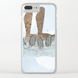 Photo Montage - Mannegishi Clear iPhone Case