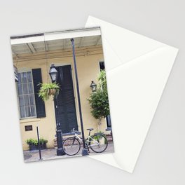 New Orleans Andrew Jackson Bicycle Stationery Cards
