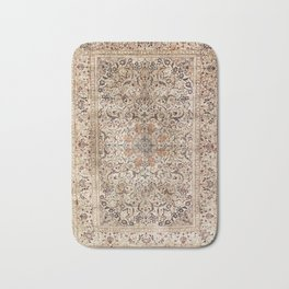 Silk Esfahan Persian Carpet Print Bath Mat