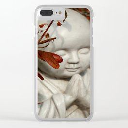 Buddha in the Fall Clear iPhone Case