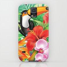 tropical  karnaval Galaxy S5 Slim Case