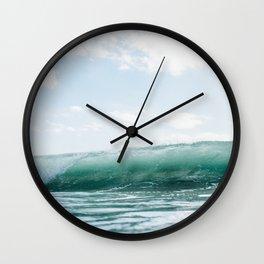 Wave Crash - Tropical Crash Wall Clock