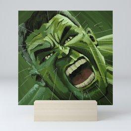 Hulk Smash Mini Art Print