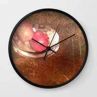 thanksgiving Wall Clocks featuring Thanksgiving by Bonnie M. Cummings ~ BeauCollage