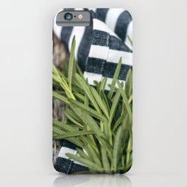 Rosemary Stripe iPhone Case