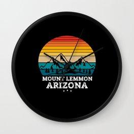 MOUNT LEMMON Arizona Wall Clock