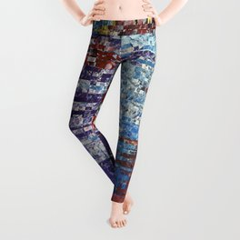 Abstract 127 Leggings