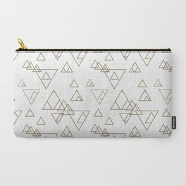 Gold Triangles I Carry-All Pouch