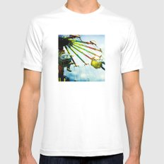 County Fair Mens Fitted Tee White MEDIUM