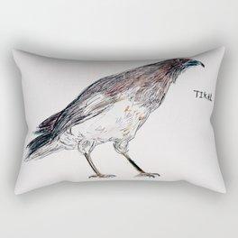 Tikal Bird Rectangular Pillow