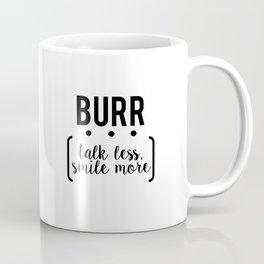 burr // white Coffee Mug