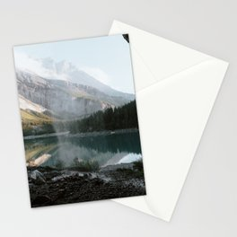 Mountain Lake Vibes III - Landscape Photography Stationery Cards