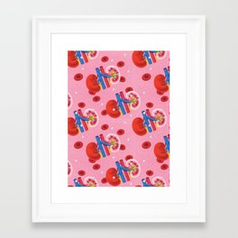Kidney1 Framed Art Print