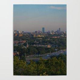 Boston Skyline by me Poster