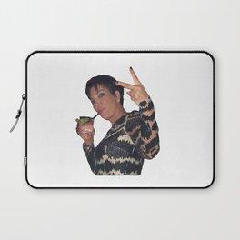Peace Out Kris Jenner Laptop Sleeve
