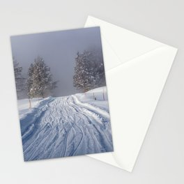 Yellowstone National Park - Road to Mud Volcano Stationery Cards